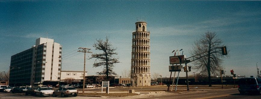 Leaning Tower Y Skokie