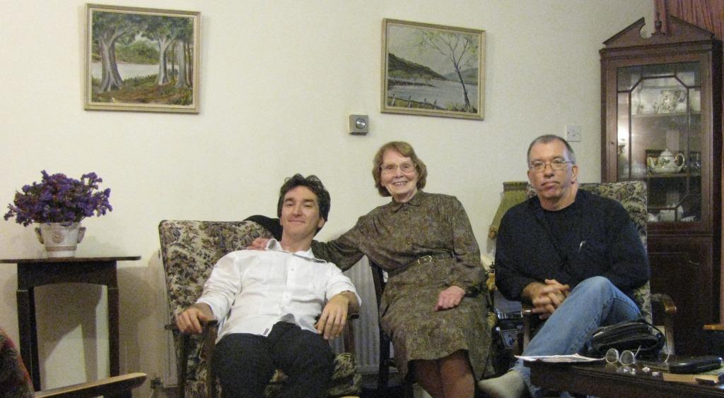 Bob Keelaghan, Mary Keelaghan, James Keelaghan, Stephens' Green 2010
