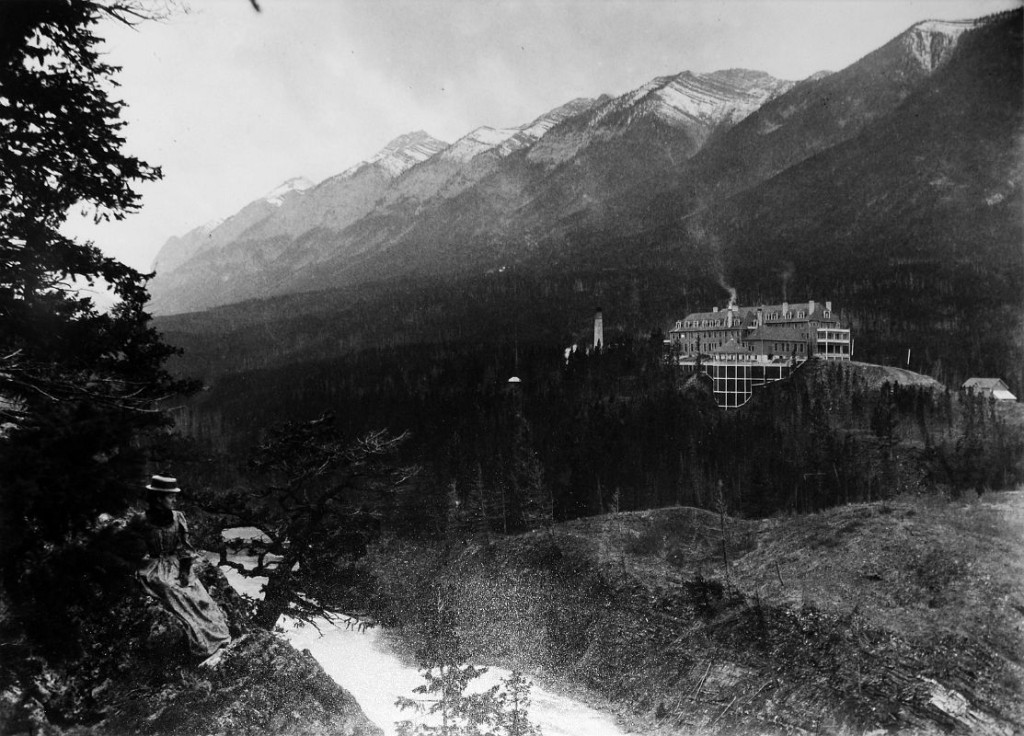 22C Banff Springs Hotel Photo From 1890 Just After it Opened In June 1888 In The Heritage Room Banff Springs Hotel